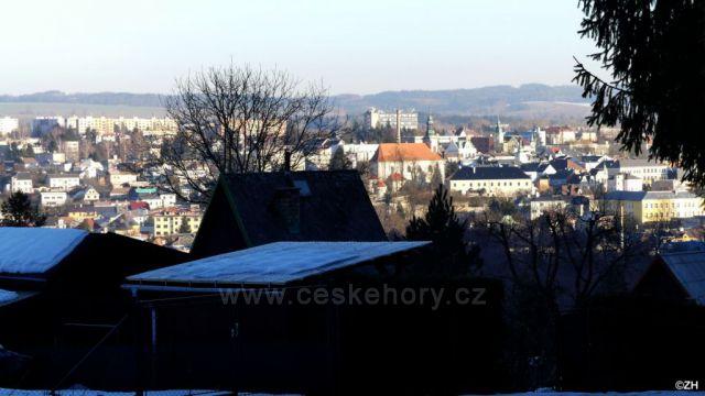 Pohled na Ústí nad Orlicí