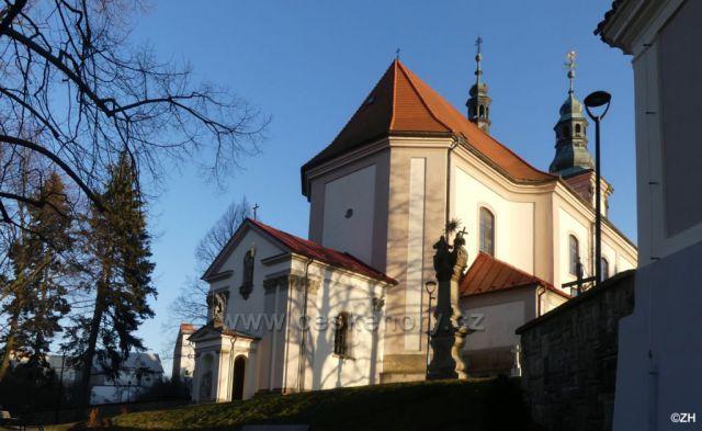 Ústí nad Orlicí, kostel Nanebevzetí Panny Marie