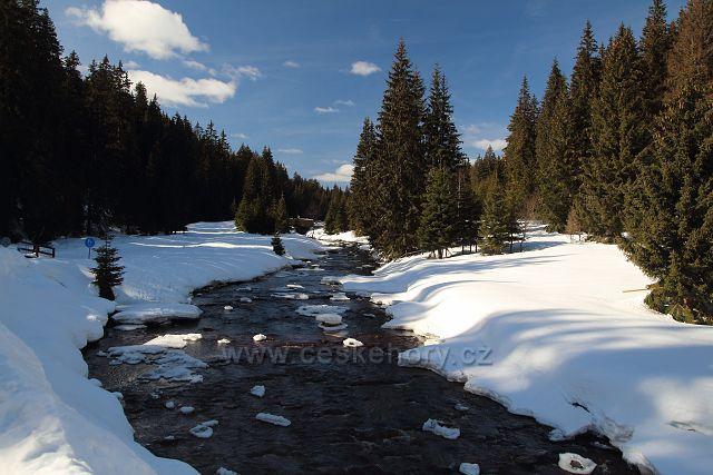 Roklanský potok na Modravě