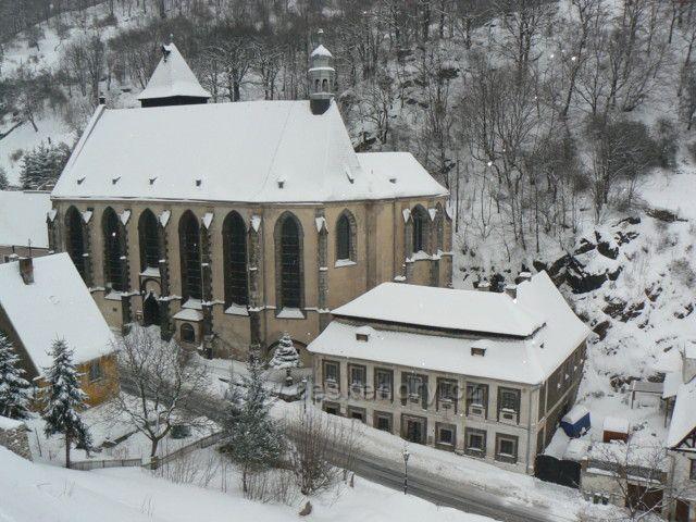 Kostel Nanebevzetí p.Marie v Krupce