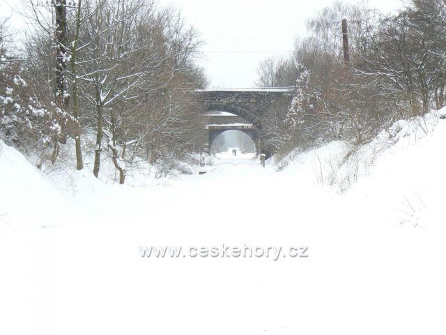 zrušená regionální trať č. 132 Děčín – Oldřichov u Duchcova
