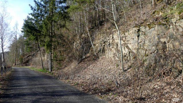 Cestou k vodní nádrži Nemilka