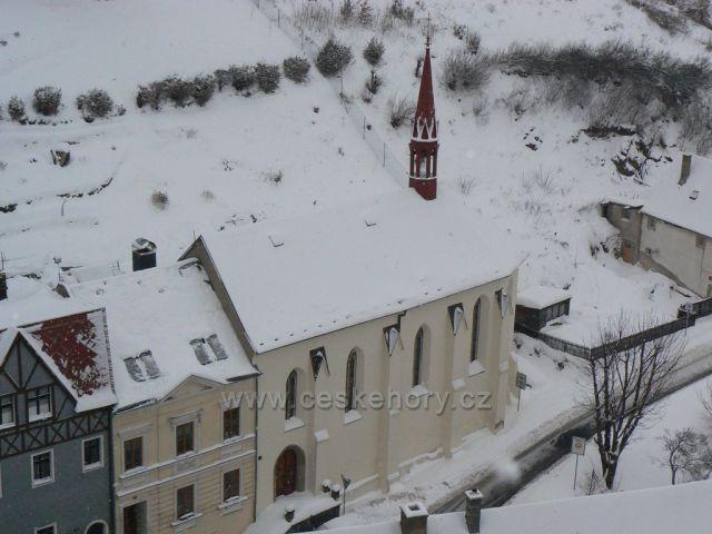 Kostel sv. Ducha, Krupka