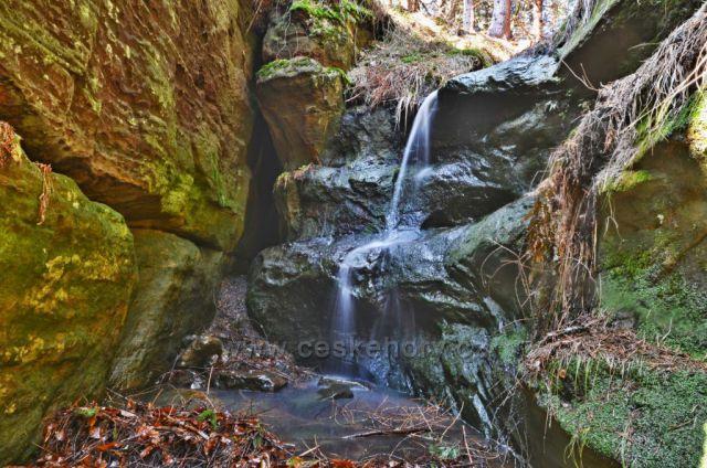 Malý Bělský vodopád
