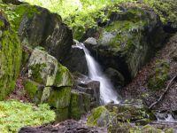 vodopad na sedleckem potoce