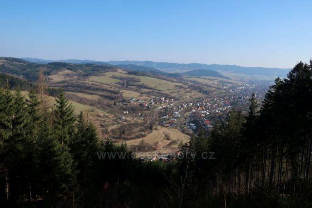 Valašsko z vrchu Kopce
