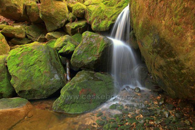 Vodopád Suché Kamenice