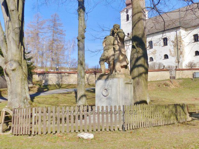Malá Morava - památník obětem I.světové války
