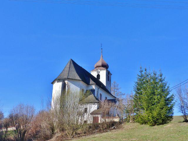 Malá Morava - Kostel Nanebevzetí Panny Marie