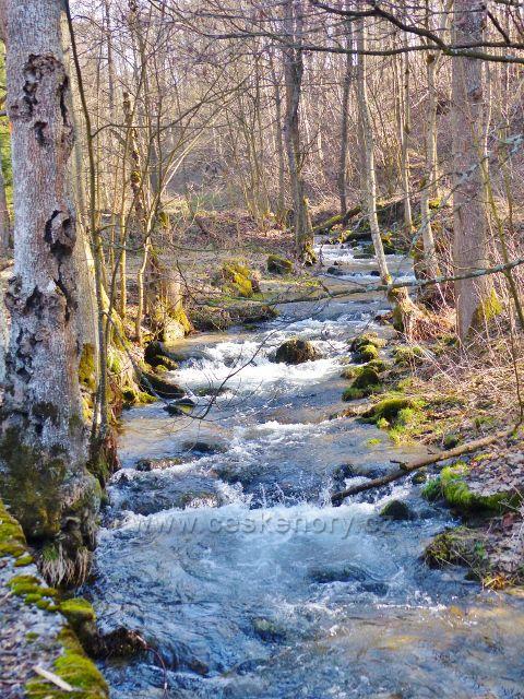 Potok Malá Morava protéká stejnojmennou obcí