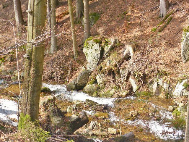 Sklené - kaskády Malé Moravy