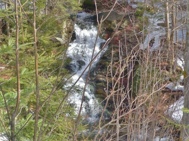 Sklené - nejvyšší vodopád na Malé Moravě je obtížně přístupný