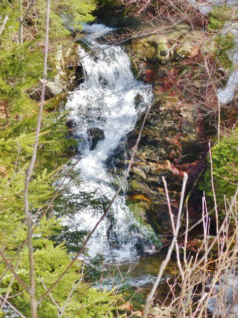 Sklené - nejvyšší vodopád Malé Moravy