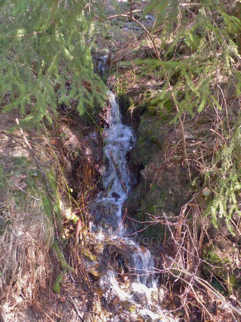 Dolní Morava - potůček na jihozápadním svahu Chlumu odevzdává své vody Mlýnskému potoku