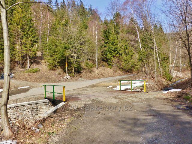 Dolní Morava - Smolkův most přes Mlýnský potok
