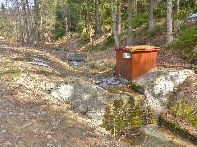 Dolní Morava - vodohospodářské zařízení na Mlýnském potoce