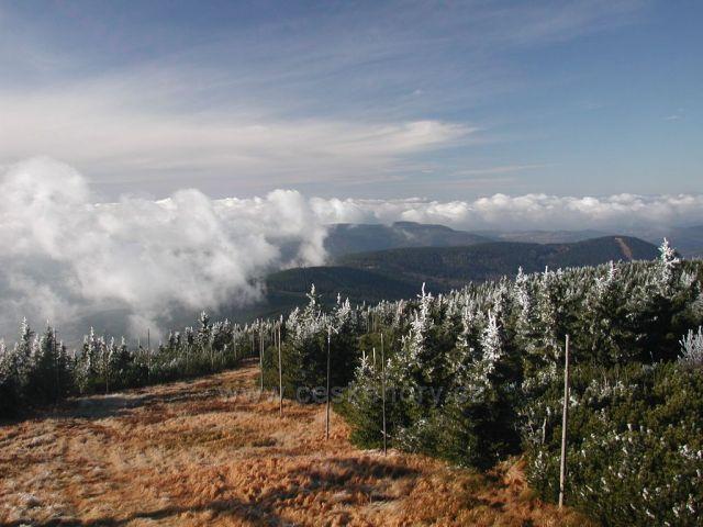 Podzimní inverze na Lysé hoře 2010-11-19