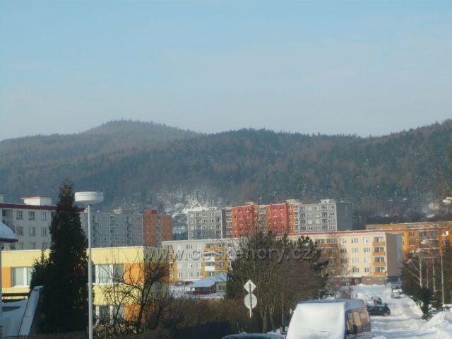 zima pod Krušnými horami