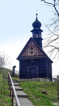 Dřevěná kaple Panny Marie
