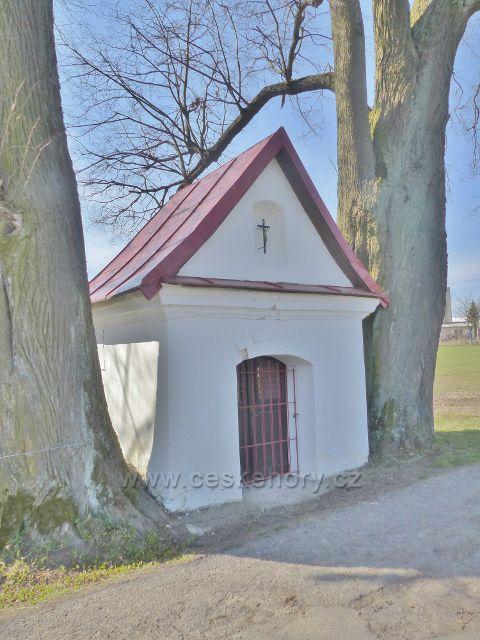 Rokytnice v Orlických horách - kaplička u cesty k Dolnímu dvoru