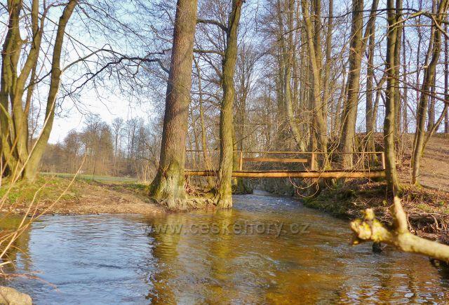 Mostek přes Rokytenku pod Dymlovem