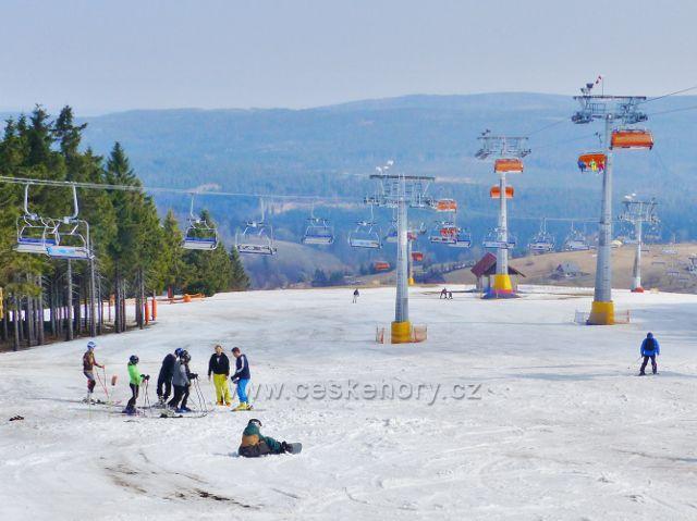 Šerlich - Skiareál Zieleniec