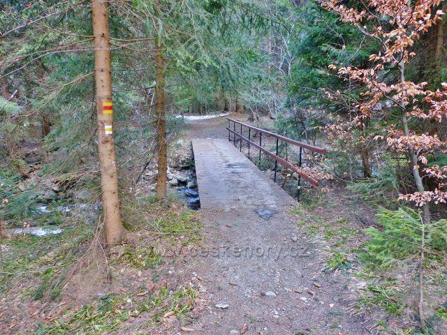 Mostek přes Moravu