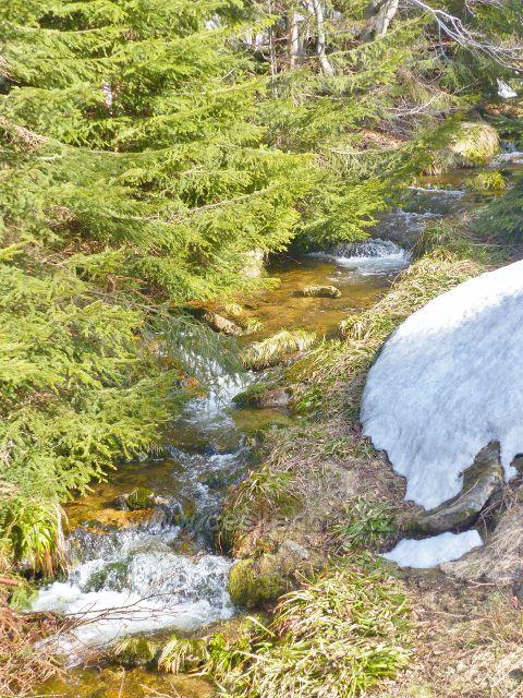I zde má přítok Moravy značný spád
