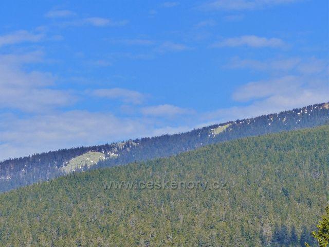 Pohled na sutě pod Králickým Sněžníkem