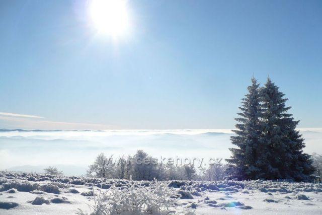 Kouzelná zima na Radhošti