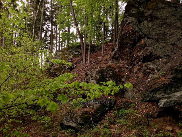 skalka na Lázeňském vrchu
