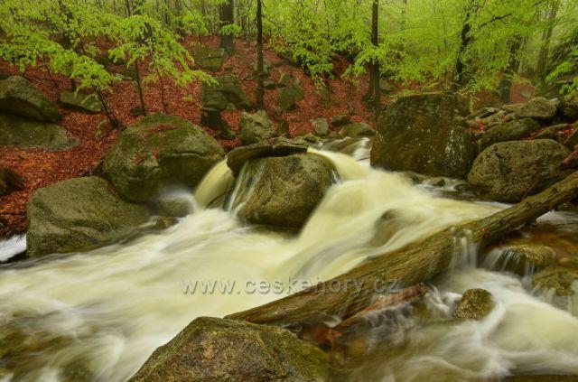 Jarní Hájený potok