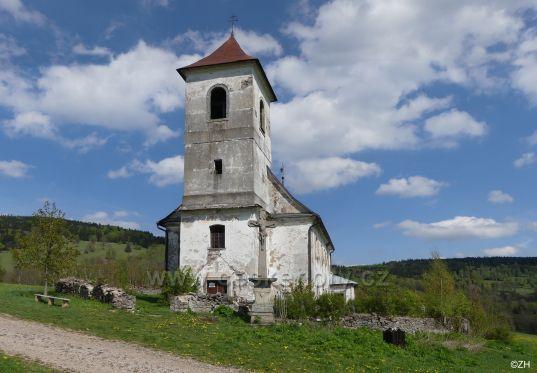 Vrchní Orlice, Kostel sv. Jana Nepomuckého