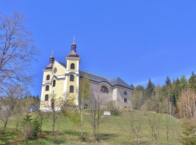 Neratovský kostel Nanebevzetí Panny Marie
