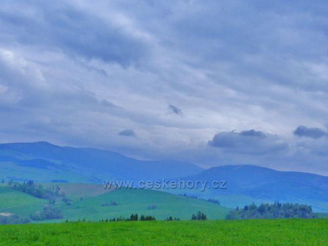 Pohled do údolí Dolní Moravy