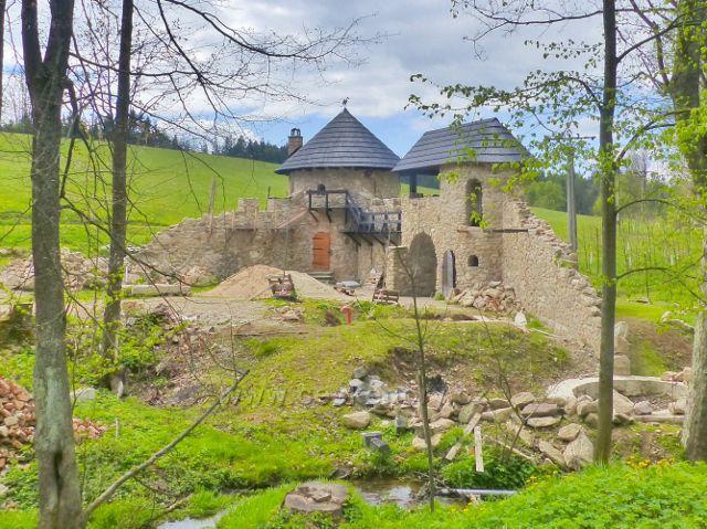 Horní Orlice - hrad Dragolan