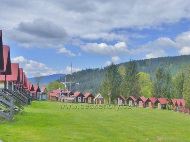 Horení Orlice - rekreační tábor mládeže