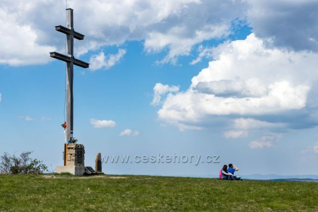 Machnáč - místo s nejkrásnějším výhledem na Moravské Kopanice a široké okolí