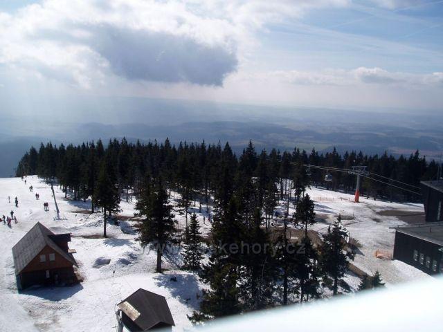 Černá hora z místní rozhledny