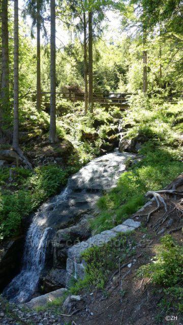 Vodopád Nad Železnicí