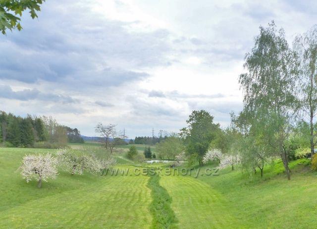 Žamberk - rybníček Za Tratí