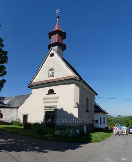 Vlčkov, kaple Narození Panny Marie