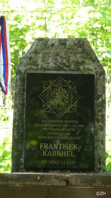Pomníček F. Kabrhela