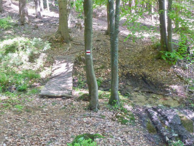 Mostek přes Kamenný potok