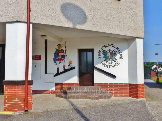 Hnátnice - sídlo Sboru dobrovolných hasičů v Hnátnici je v objektu Obecního úřadu