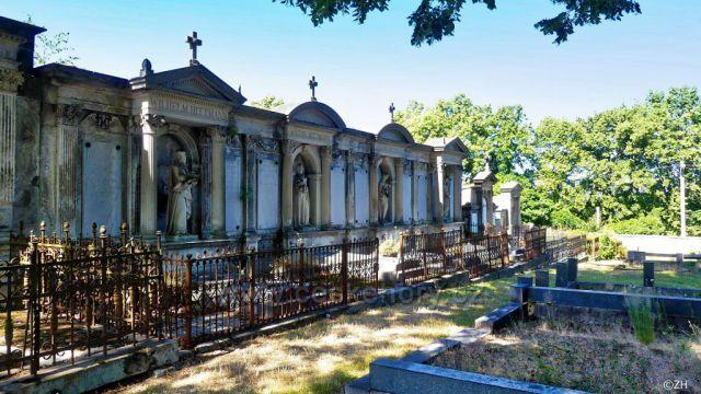 Honosné hrobky z konce 19.století