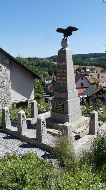 Kokonín, památník prusko-rakouské války v roce 1866