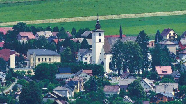 Velké Losiny, kostel sv. Jana Křtitele, opět z Bukovky