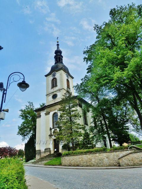 Potštejn - kostel sv. Vavřince