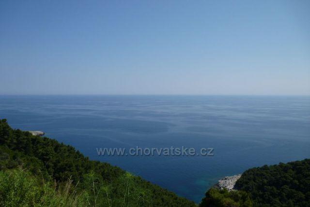 Ostrov Mljet- cestou do Sobry